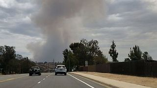 San Diego Brush Fire More Than Doubles in Size Over a Few Hours - Video