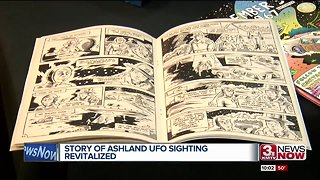 Local UFO story revitalized after beer, comic book comes out