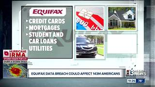 Equifax data breach puts 143 million Americans at risk - Video
