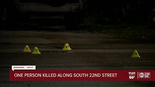 One person killed in Tampa shooting
