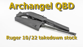 Archangel AAQBD Takedown Stock Install on Ruger 10/22 #425