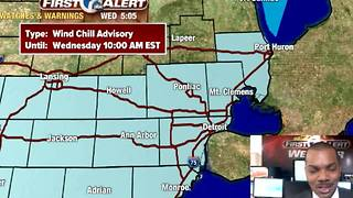 Wind chill advisory... again - Video
