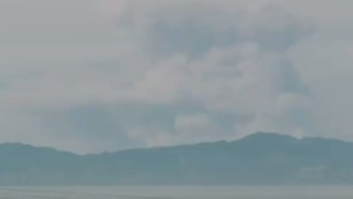 Smoke Rises From Thomas Fire in Southern California - Video