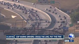 Drive the express lanes on I-25, US 36? Expect increased police patrols - Video