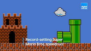 There's A New Record Speedrun for Super Mario Bros.
