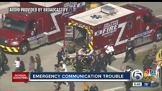 EMS, police radio system 'overloaded' during early moments of Florida school shooting - Video
