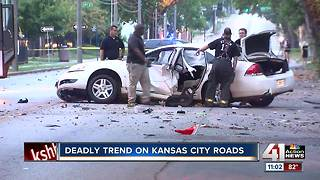 Deadly trend on Kansas City roads - Video