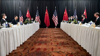 Tensions High At First U.S.-China Meeting Under President Biden