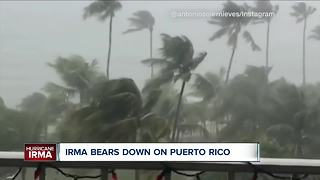 Irma bears down on Puerto Rico - Video