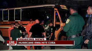 460 inmates evacuated from Florida Keys to Palm Beach County - Video