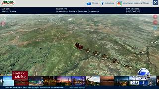 Tracking Santa Claus with NORAD - Video