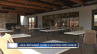 Local restaurant owner closes four locations over COVID-19 concern