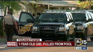 1-year-old pulled from West Valley pool - Video