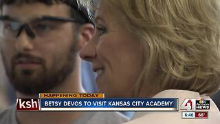 Betsy DeVos to visit Kansas City Academy - Video