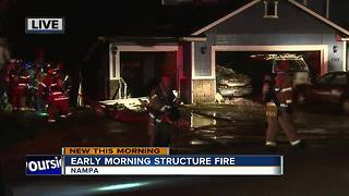 Crews fight house fire in Nampa - Video