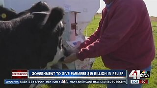 Government to give farmers $19 billion in relief