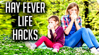 17 RAPID Hay Fever Cure Life Hacks That Actually WORK  - Video