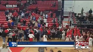 Brawl breaks out at high school basketball game
