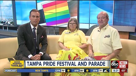 Tampa Pride returns to Ybor City March 30