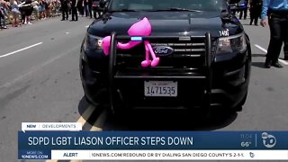 SDPD LGBT liaison officer steps down from position