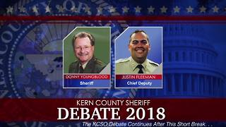 Donny Youngblood and Justin Fleeman KCSO Sheriff Debate - Video