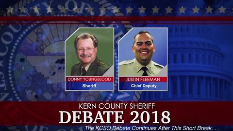Donny Youngblood and Justin Fleeman KCSO Sheriff Debate