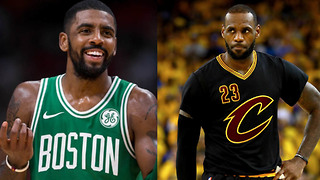 Kyrie Irving RESPONDS to the Cavs Trading Damn Near the Entire Team - Video