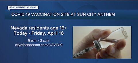 Sun City Anthem Community Center expanding vaccine appointment times