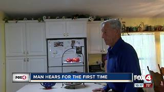 Man gets his hearing back for the first time in decades