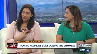 Local parents share ideas on how to keep kids busy during the summer