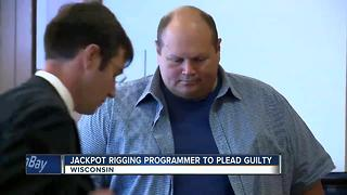 Jackpot rigging programmer to plead guilty in Iowa, Wisconsin - Video