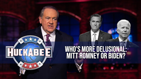 Who's More Delusional: ROMNEY Or Biden? | Huckabee
