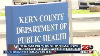 Study finds Kern County falling behind in health - Video