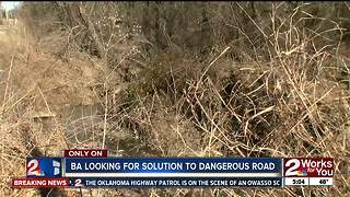 Broken Arrow looks to address road erosion - Video