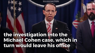 Opinion | NY Post Bombshell Report Means Rosenstein Massively Rigged Cohen Trial - Video