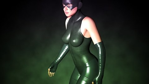 Create a Superhero picture with Daz3D and Photoshop