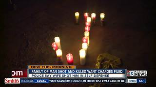 Family talks about man killed by wife