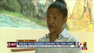 Walnut Hills residents fighting for their homes