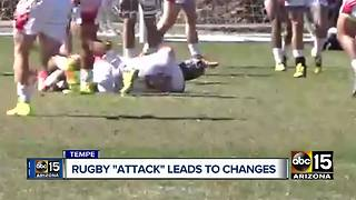 Rugby attack at ASU game leads to changes - Video