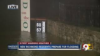 New Richmond residents move to higher ground - Video