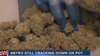 Las Vegas police will enforce marijuana law as district attorney backs off - Video