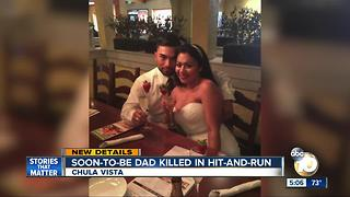 Father-to-be killed in hit-and-run crash - Video