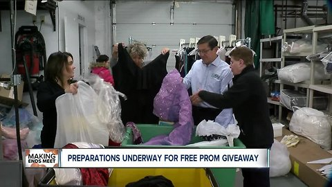 Free prom dresses, shoes and jewelry in Buffalo