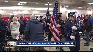 Idaho State Veterans Home Honors Local Vets - Video