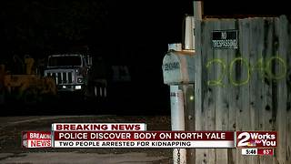 Tulsa Police discovered body on North Yale - Video