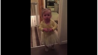 Toddler Agrees With Everything Mom Says - Video