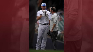 MLB Pitcher Vomits Twice On Mound, Still Manages To Finish Inning - Video