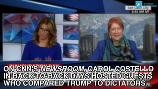 Liberal Mainstream Media Compares Trump To 3 Different Dictators - Video