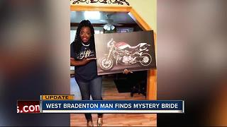 Florida man finds South Carolina bride after photo canvas mix-up - Video