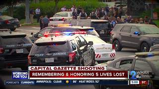 All five victims remembered in Capital Gazette targeted attack - Video